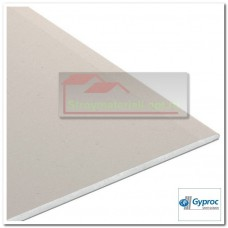 Гипсокартон (оптима) Gyproc, 2500х1200х12,5 мм.