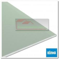 Гипсокартон (влагостойкий) Volma, 2500х1200х12,5 мм.